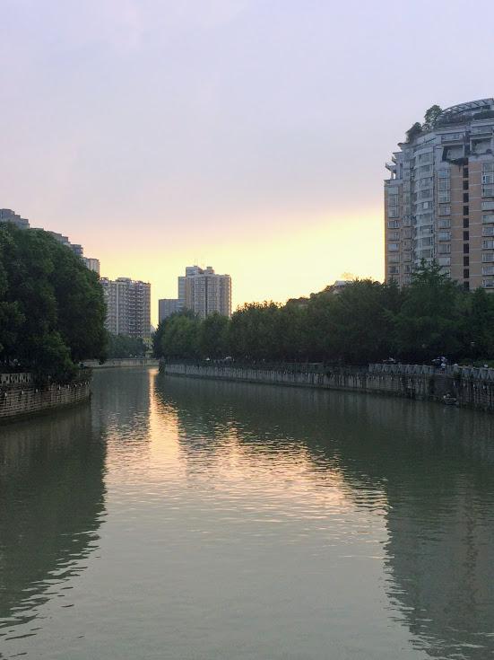 sunsetoverriver