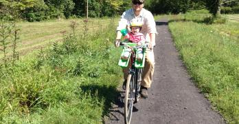 Biking the Virginia Creeper Trail with a Baby – Damascus, Virginia