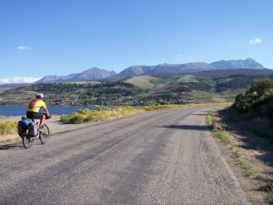 Biking across America by Pueblo, Colorado