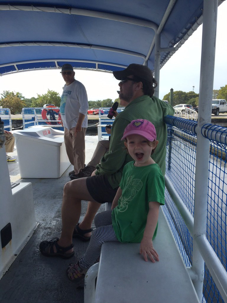 Jane loved the boat tour through the back country.