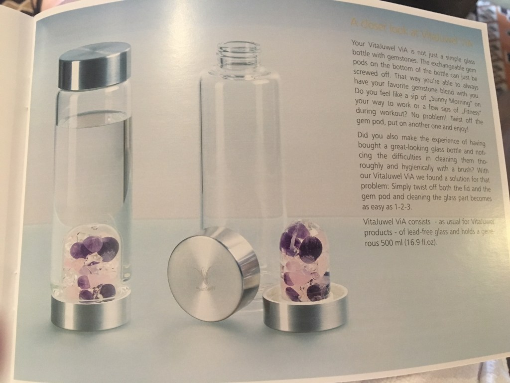 You too can have your own mystic crystal water at home for the low low starting price of $78.