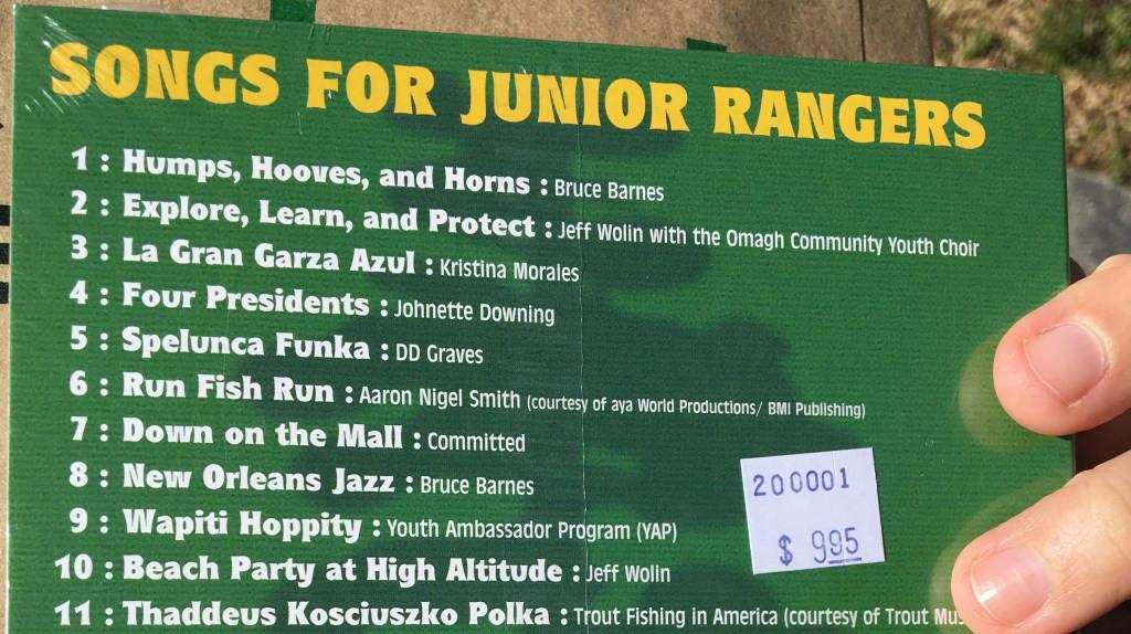 The Junior Ranger CD