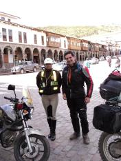 La policía en Cuzco