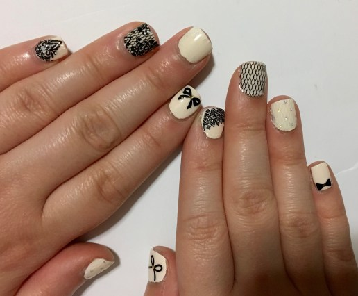 Nail Bliss Nail Pop in All Laced Up