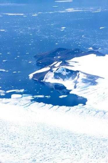 Antarctica as seen from Antactica Flights