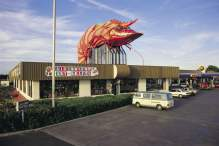 The Big Prawn, The Big Banana, Coffs Harbour. Photo courtesy Destination NSW