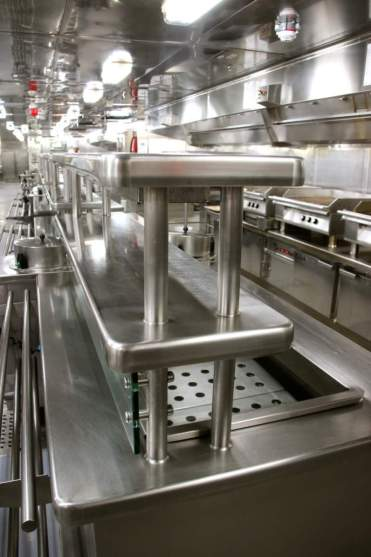 Cruise Ship Kitchen Tours on MS Oosterdam