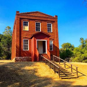 The Columbia Schoolhouse is Californias first of its size Builthellip