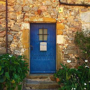 Doorway in idyllic Tossa de Mar