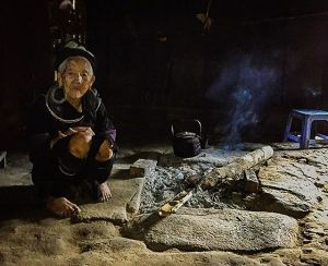 The shaman of Lao Chai Amongst her altars and spiritualhellip