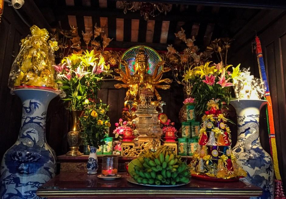 Shrine of One Pillar Pagoda, Hanoi, Vietnam