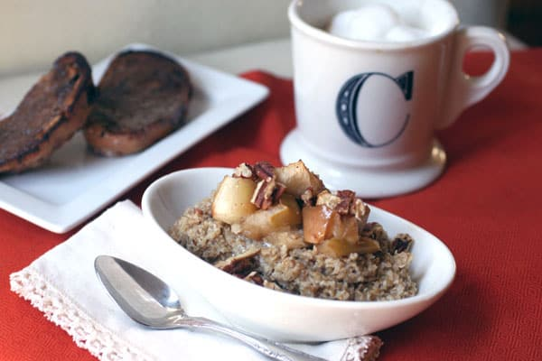 roasted apple oatmeal recipe