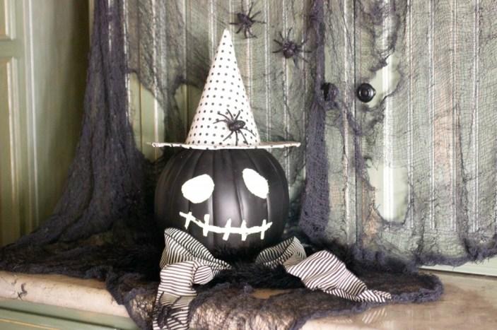 13 diy pumpkin witch