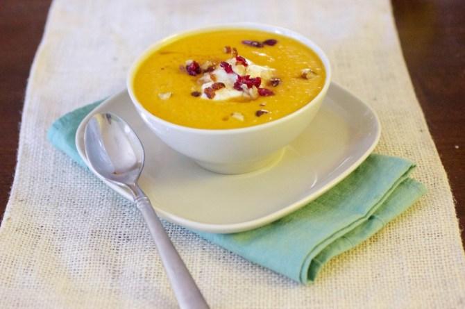 pumpkin pear soup