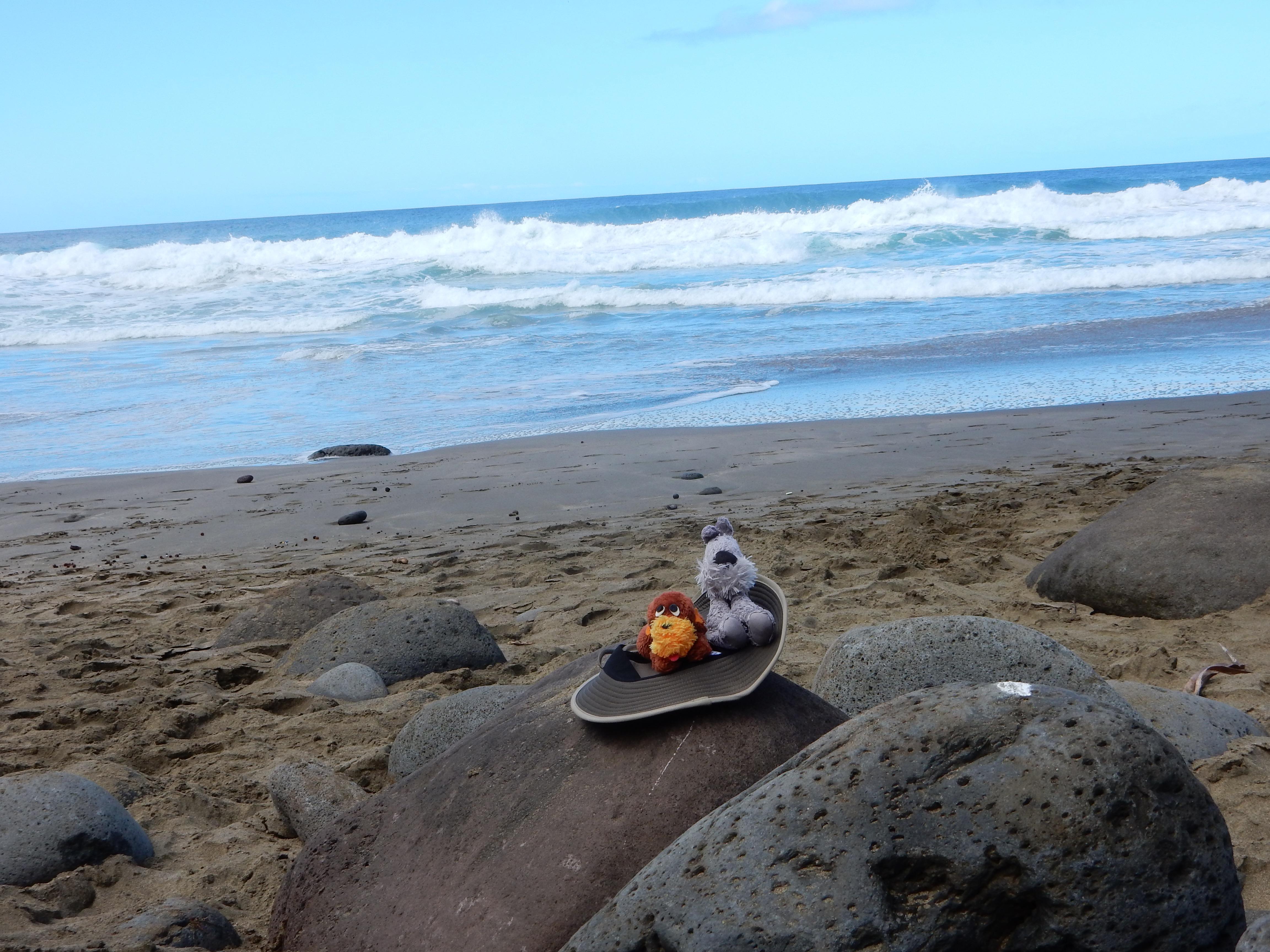 Hiking on the Napali Trail, Kauai