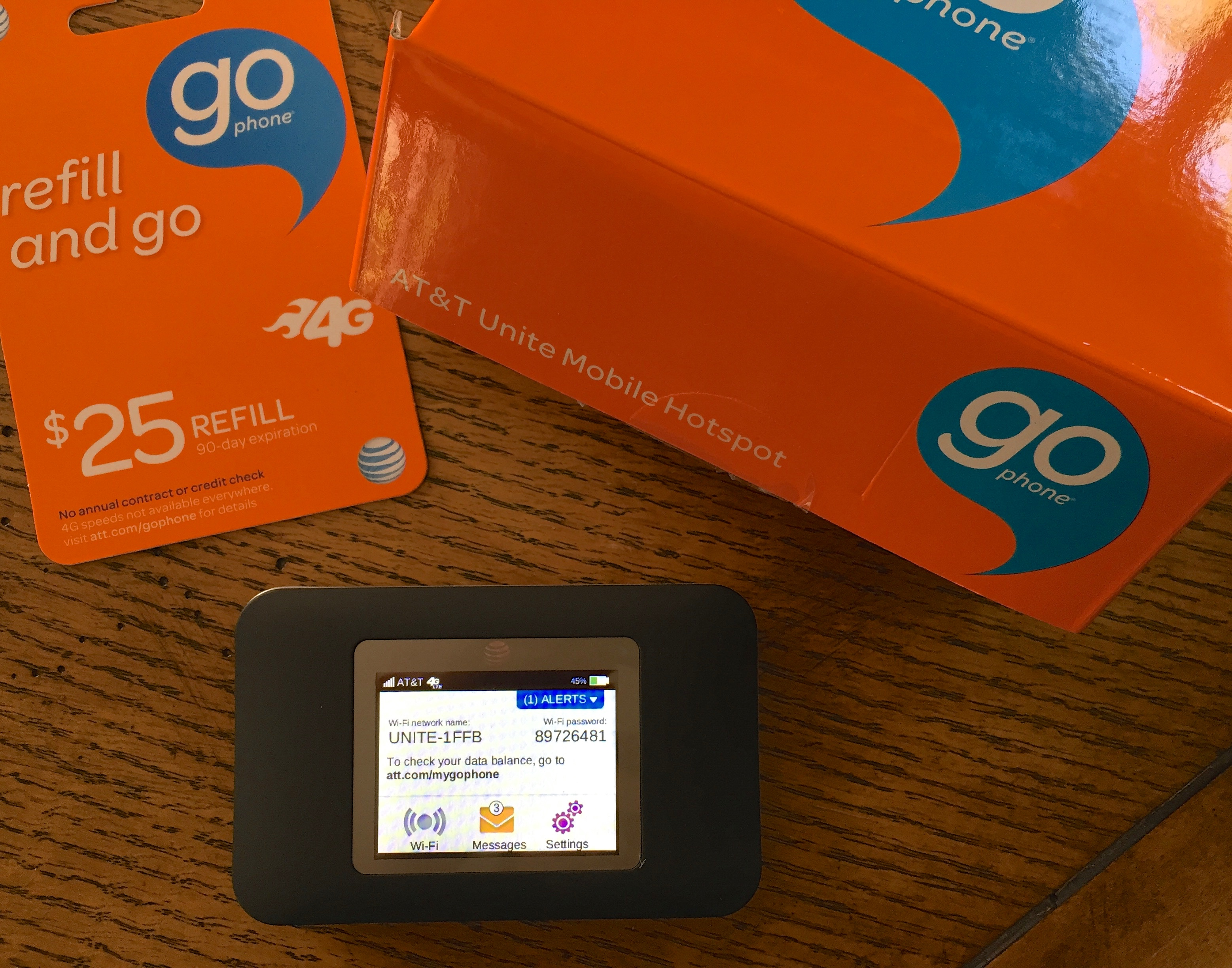 How an AT&T Mobile Hotspot Saved the Day! It really did.