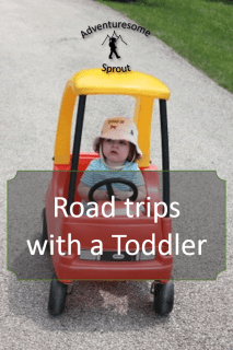 Road trips with a Toddler