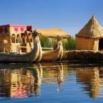 Las islas flotantes de los uros - Perú