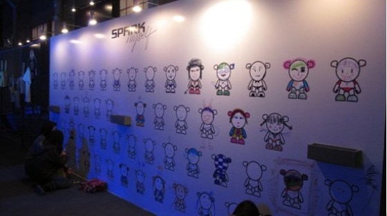 Chevrolet China - SPARK MYSELF Launch Party (Grafitti Wall)