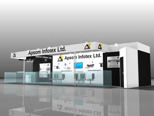 Apsom Infotex Ltd. exhibition