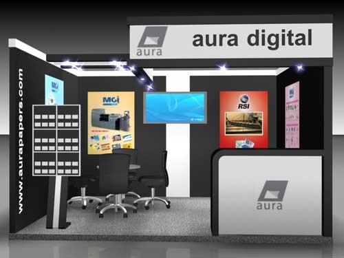 Aura Digita Stall Fabrication