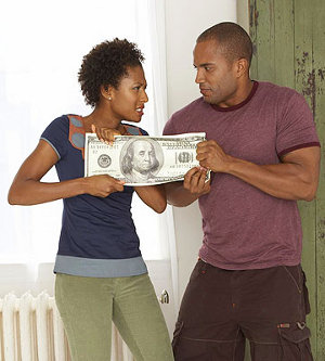 advice.lovedetour.com 7 Simple Ways to Avoid Money Fights in Your Relationship Money fights with couple image