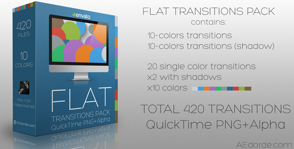 Flat Transitions Pack