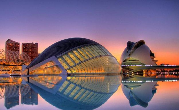 Ciudad de las Artes y de las Ciencias (Valencia)