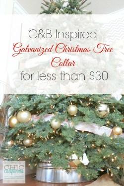 Small Of Christmas Tree Collar