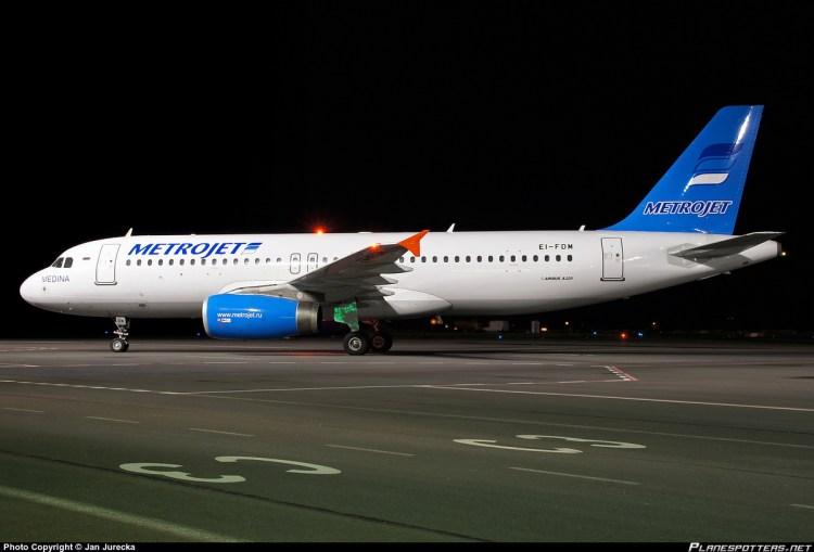 EI-FDM Metrojet Airbus A320-232