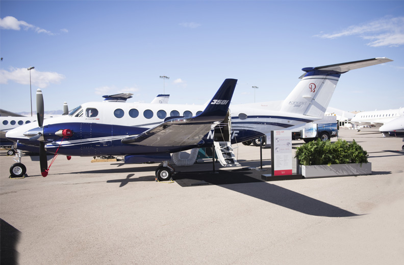 Beechcraft receives certification on Fusion equipped-King Air 350i ...