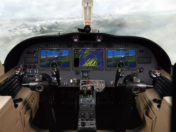 With Pro Line Fusion, CJ3 operators will have an all-in-one, turn-key flight deck solution for meeting airspace mandates, and gain significant situational awareness.