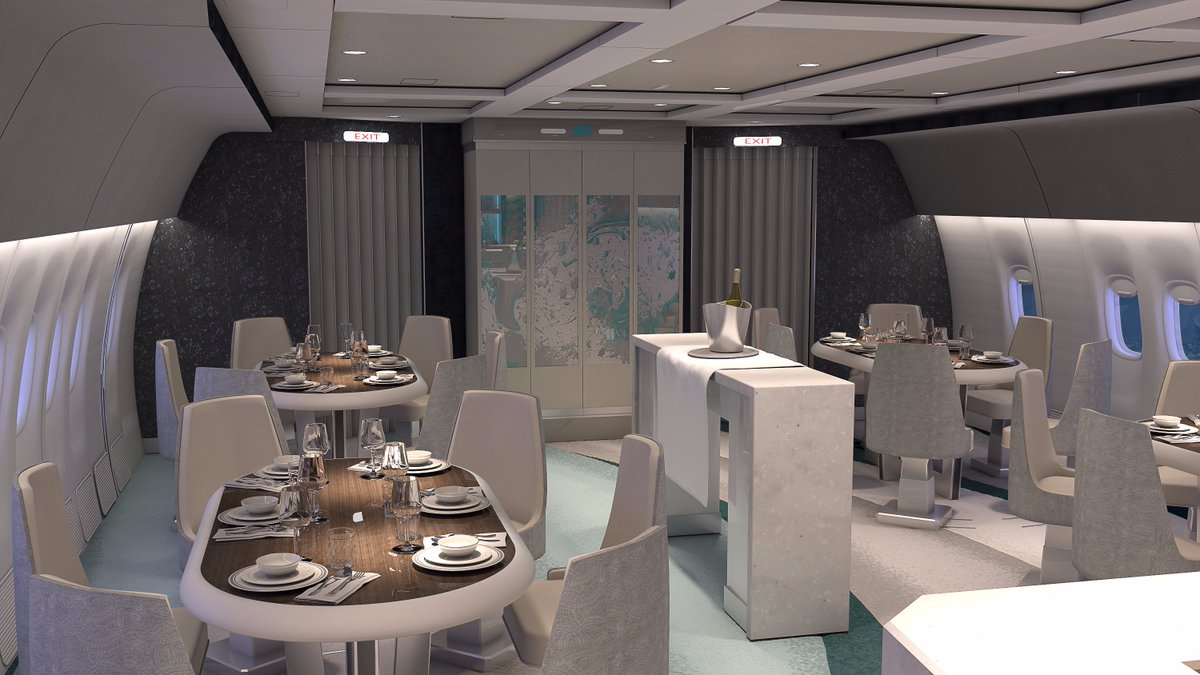 Crystal AirCruises Entrusts VIP Boeing 777 Interior To Greenpoint  Technologies
