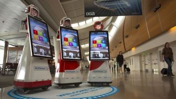 Robots arrive at Silicon Valley airport