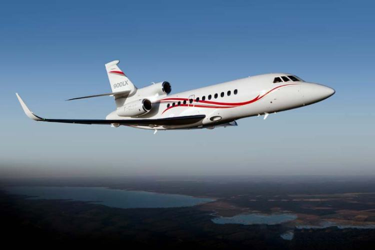Falcon 900LX updated by Dassault