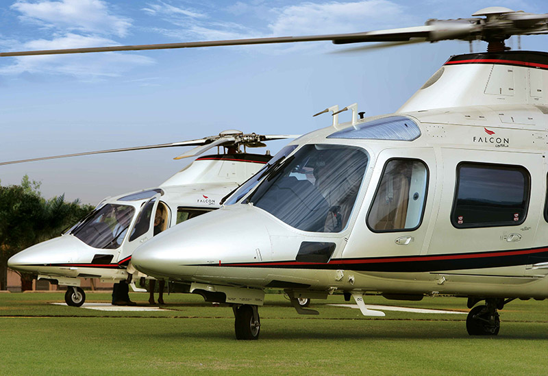 Falcon Aviation inaugurates VIP Heliport at Dubai South Al Maktoum International Airport