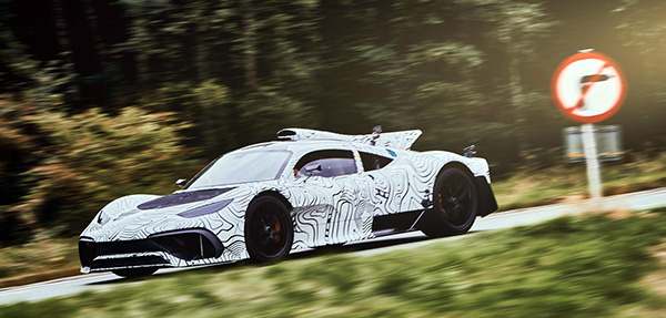Mercedes-AMG Project ONE: Prototype Testing