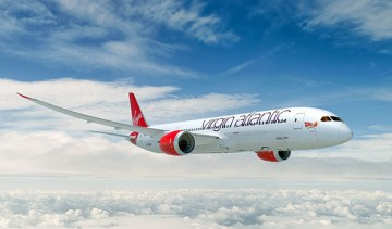 Virgin Atlantic, VAA 787-9 air-to-air visualization design