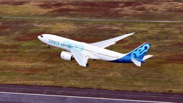 The A330neo-800 taking off in Toulouse, France on November 6, 2018 (Image: Airbus)