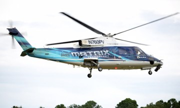 The SARA optionally-piloted helicopter during US Army test flights (Image: Sikorsky)