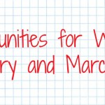 Opportunities for Writers: February and March 2014