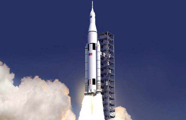 Space Launch System Picture