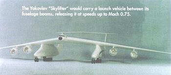 Yakovlev Skylifter Air Launched Vehicle Picture