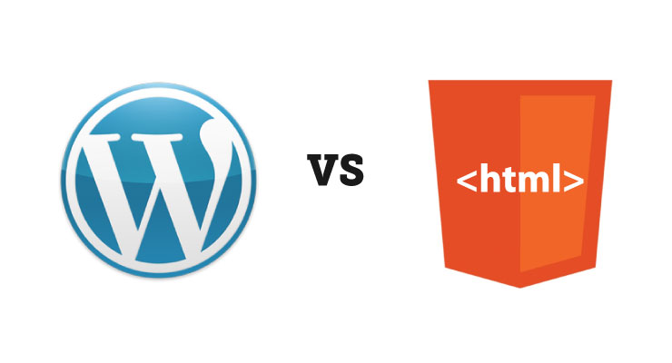 WordPress vs HTML Statis