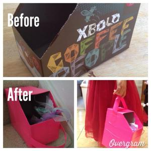 Keurig coffee box duct tape DIY project