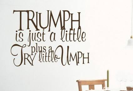 Quotes about Triumph