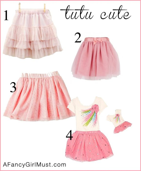 Celebrity Kids Look for Less: Tutu Skirts Inspired by Honor Warren | AFancyGirlMust.com
