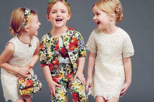 Kid Style: Dolce & Gabbana JUNIOR A/W 2014-2015 | AFancyGirlMust.com