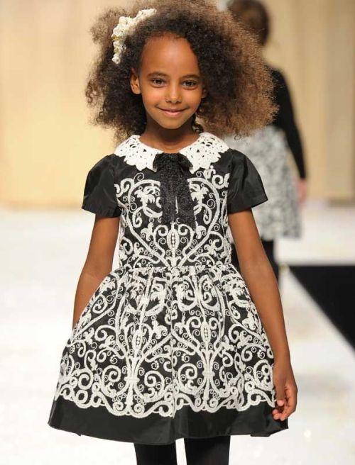 Kid Style: Quis Quis Girls Winter 2014 | AFancyGirlMust.com