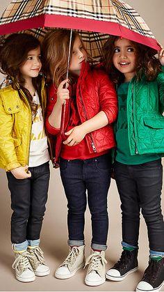 Kid Style: Burberry Children | AFancyGirlMust.com
